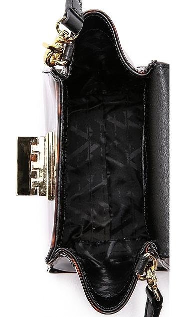 ZAC Zac Posen Миниатюрная сумка Eartha с ручкой сверху