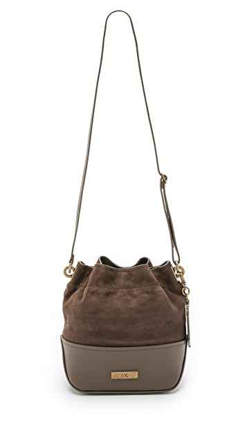 ZAC Zac Posen Eartha Envelope Mini Drawstring Bucket Bag