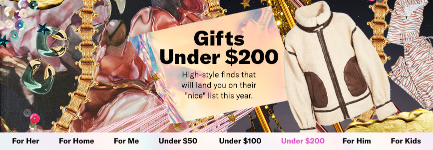 Holiday Gifts Under 200