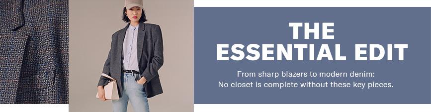 Shop Essential Edits