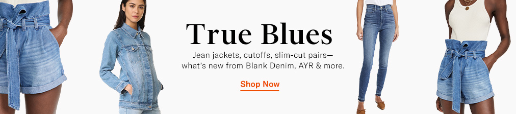 Shop Denim, BLANK Denim & AYR