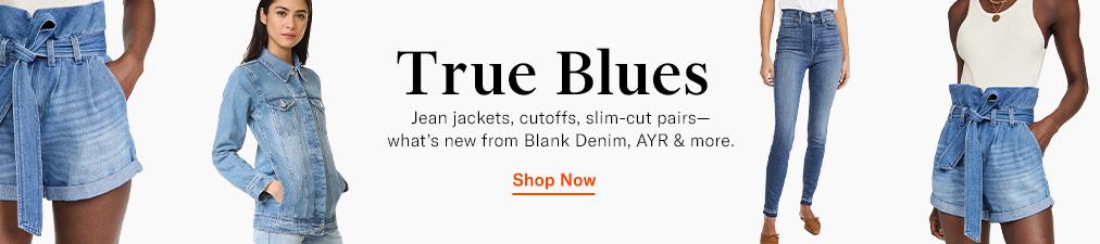 Shop Denim, BLANK Denim & AYR