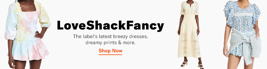 Shop the latest from LoveShackFancy