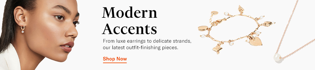 Shop Jewelry. From earrings to necklaces, see our latest outfit finishing pieces.