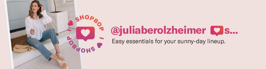 Shop Influencer Julia Berolzheimer