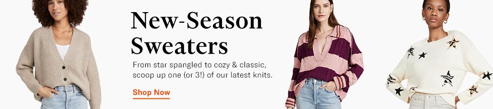Shop Sweaters. Demylee, Rails, Free People.