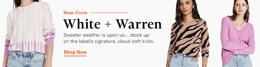 Shop the latest from White + Warren.