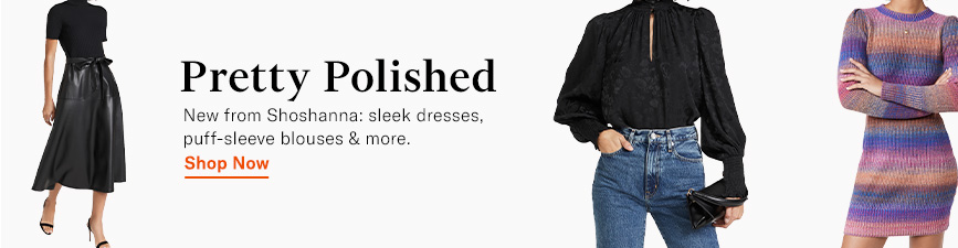 Shop the latest from Shoshanna.