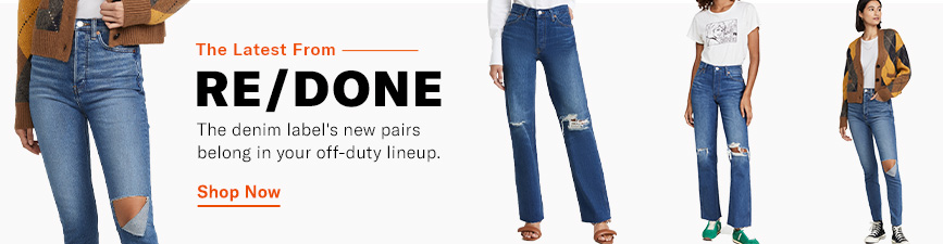 Shop the latest from RE/DONE.