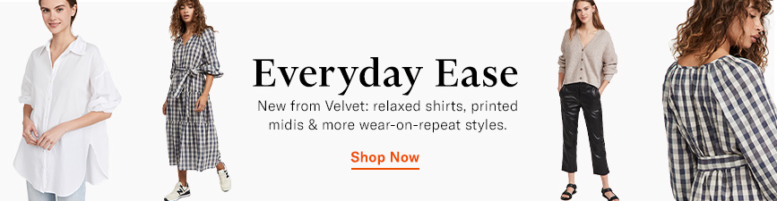 Shop the latest from Velvet.
