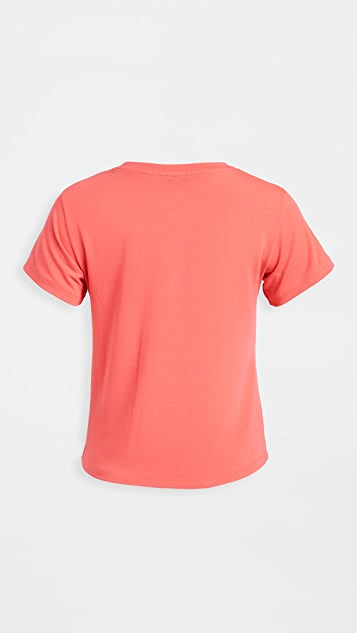 All Access Knot Front Tee