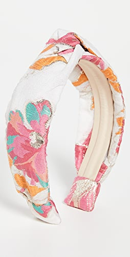 Autumn Adeigbo - Pink Brocade Headband