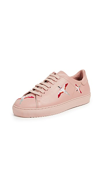 Axel Arigato Clean 90  Embroidery Sneakers