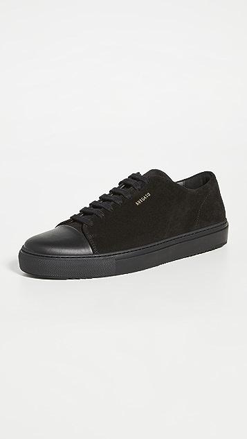 Axel Arigato Suede Cap Toe Sneakers