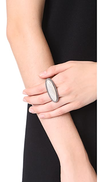 Aaryah Naz Two Finger Ring