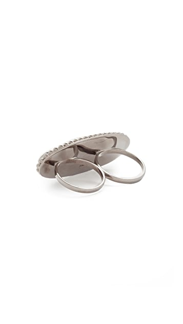 Aaryah Naz Two Finger Ring