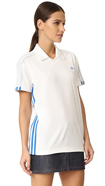 adidas Originals by Alexander Wang Velour Polo Shirt