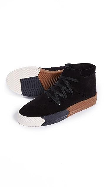 adidas Originals by Alexander Wang AW Skate Mid Top Skate Shoes