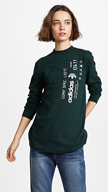 add3ba59db03 adidas Originals by Alexander Wang AW Graphic Pullover