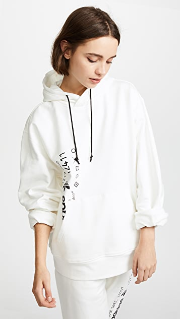 adidas Originals Oversized Sweatshirt With Front Pocket