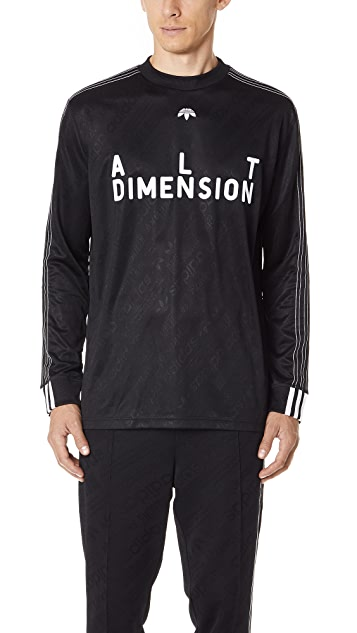 adidas Originals by Alexander Wang AW Soccer Long Sleeve Jersey