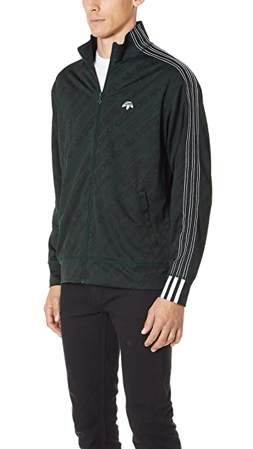 adidas Originals by Alexander Wang AW Jacquard Track Jacket
