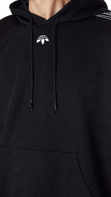 Adidas Originals por Alexander Wang AW Jacquard Hoodie East Dane