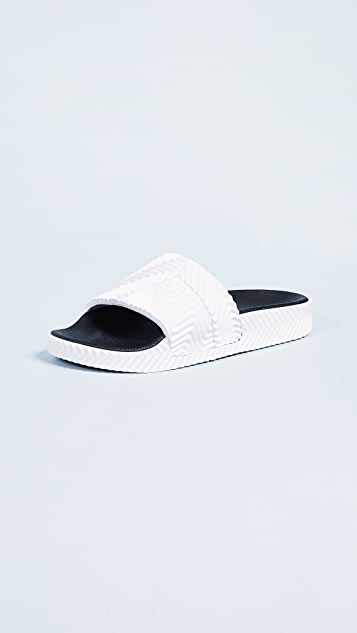 Aw Adilette Slides by Adidas Originals By Alexander Wang