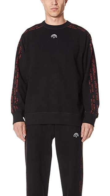 574f7bd343 adidas Originals by Alexander Wang Crew Sweatshirt | EAST DANE
