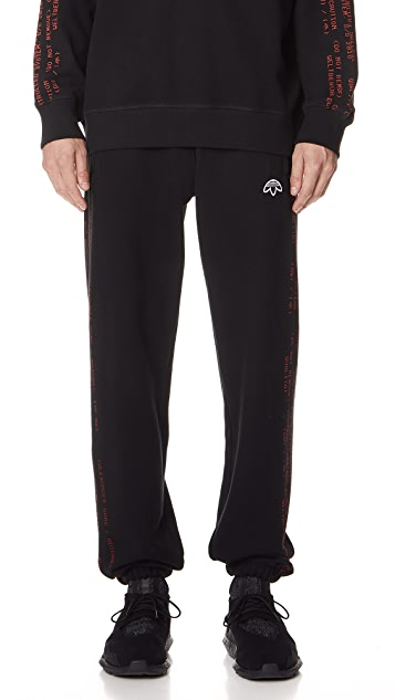 Adidas Originals por Alexander Wang Jogger pantalones East Dane