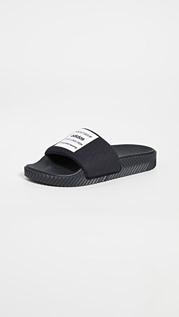 adidas Originals by Alexander Wang AW Adilette Lycra Slides