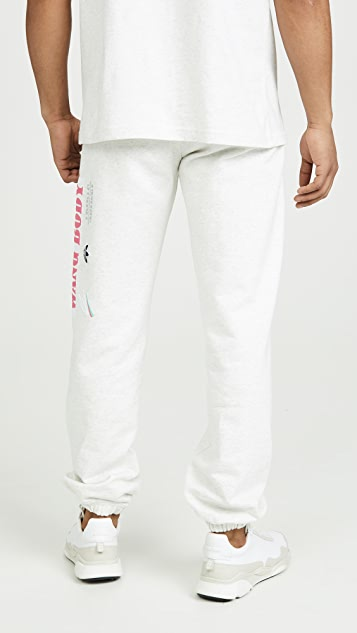 adidas Originals by Alexander Wang Wangbody Graphic Joggers