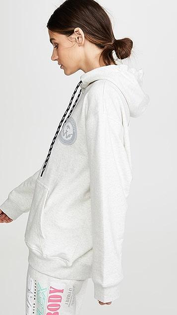 adidas Originals by Alexander Wang Толстовка с капюшоном и рисунками