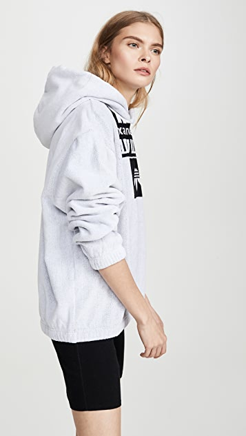 adidas Originals by Alexander Wang Towel Hoodie