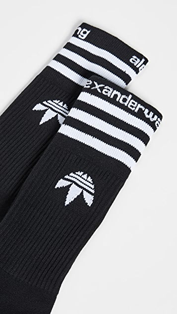 adidas Originals by Alexander Wang Striped Socks