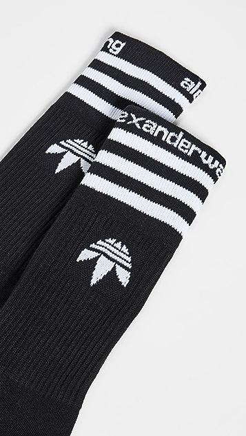 adidas Originals by Alexander Wang Striped Socks