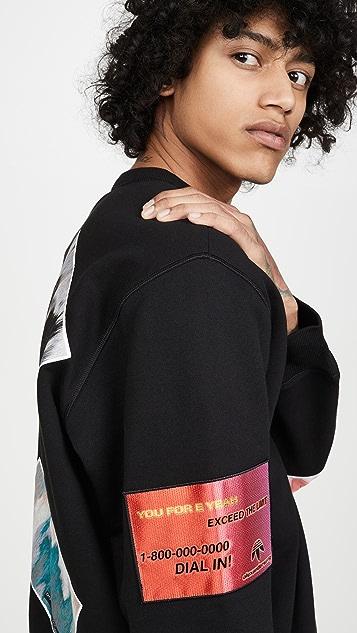 adidas Originals by Alexander Wang Flex2Club Crew Sweatshirt