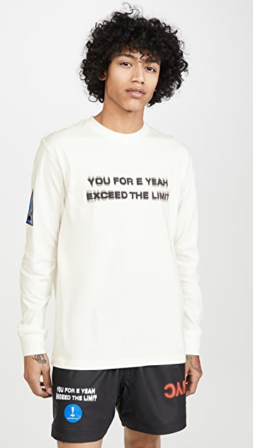 adidas Originals by Alexander Wang Flex2Club Long Sleeve Tee