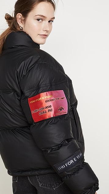 adidas Originals by Alexander Wang Flex2Club 夹棉外套