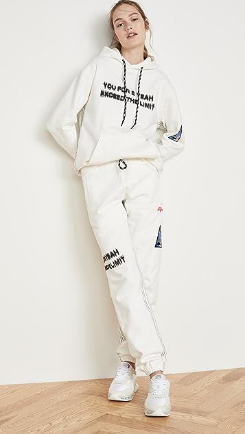 adidas Originals by Alexander Wang Graphic Hoodie