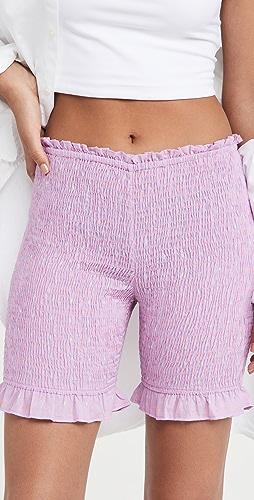 Abacaxi - Smocked Shorts