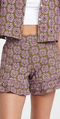 Abacaxi - Ruffle Shorts