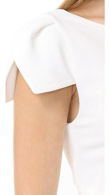 Antonio Berardi Cap Sleeve Dress