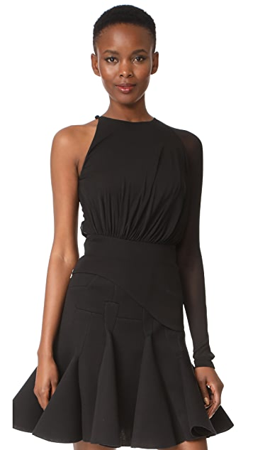 Antonio Berardi One Shoulder Blouse