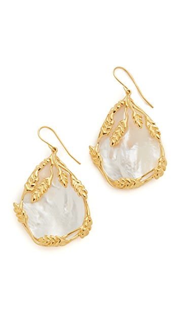 Aurelie Bidermann 18k Gold Francoise Earrings