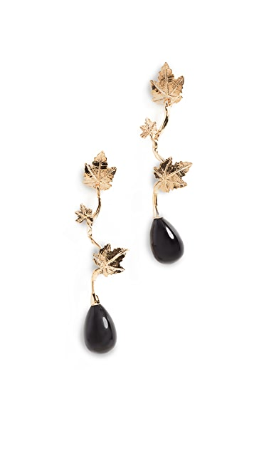Aurelie Bidermann Vitis Pendant Earrings
