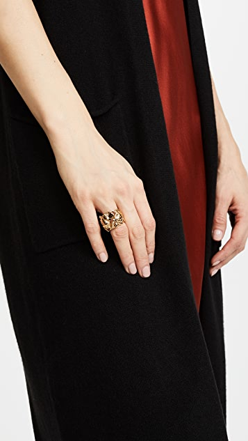 Aurelie Bidermann Barbizon Ring