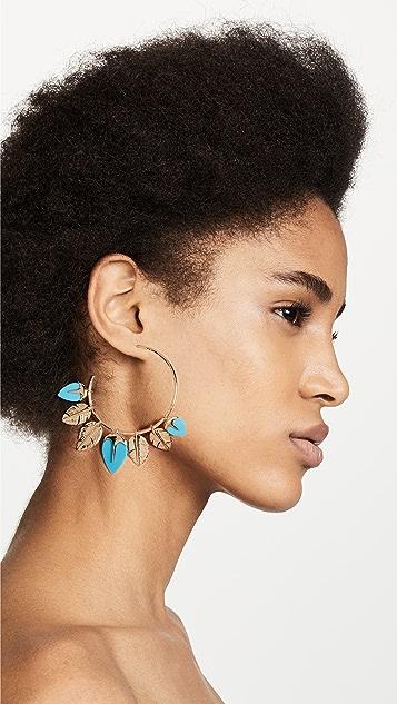 Aurelie Bidermann Thalitha Hoop Earrings