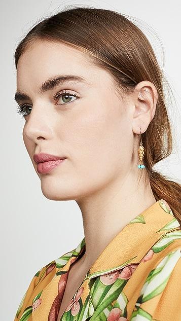 Aurelie Bidermann Roudoudou Pendant Earrings