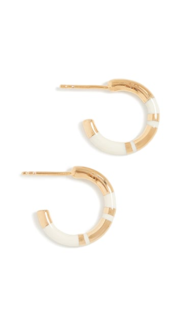 Aurelie Bidermann Positano Mini Hoops